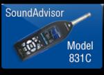 Larson Davis SoundAdvisor 831C äänitason mittari
